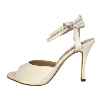 Iris DS in Latte Patent Leather
